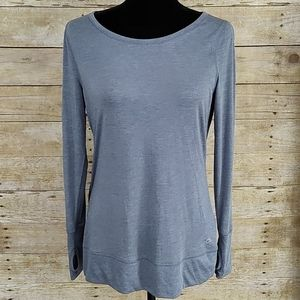 Gap Fit Cool Dry Open Back Long Sleeve Top